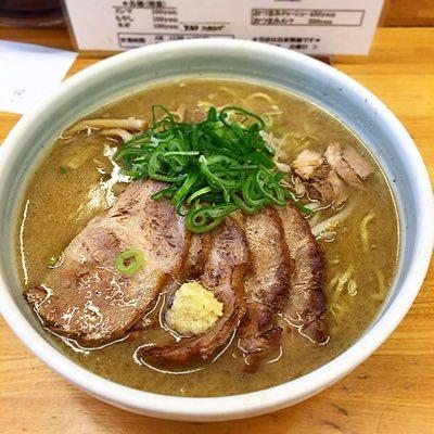ラーメン庵の味噌チャーシュー麺