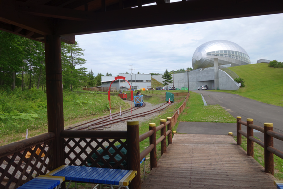 夢の森公園巨大滑り台2